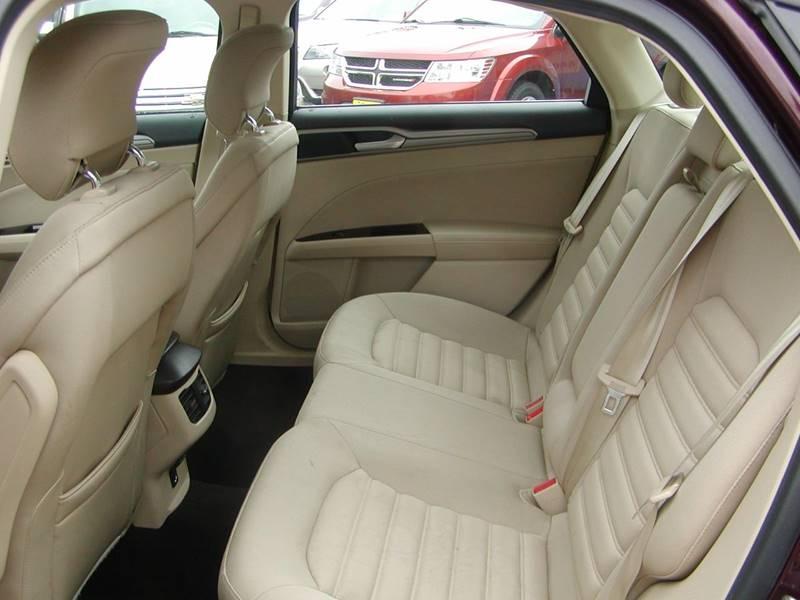 2013 Ford Fusion SE 4dr Sedan for sale at Berea Auto Mall