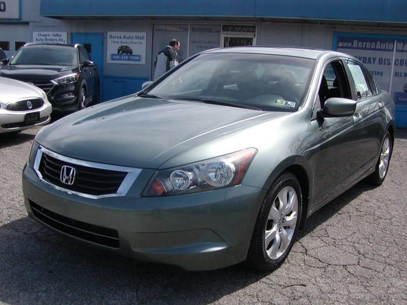 2008 Honda Accord EX L 4dr Sedan 5A for sale at Berea Auto Mall