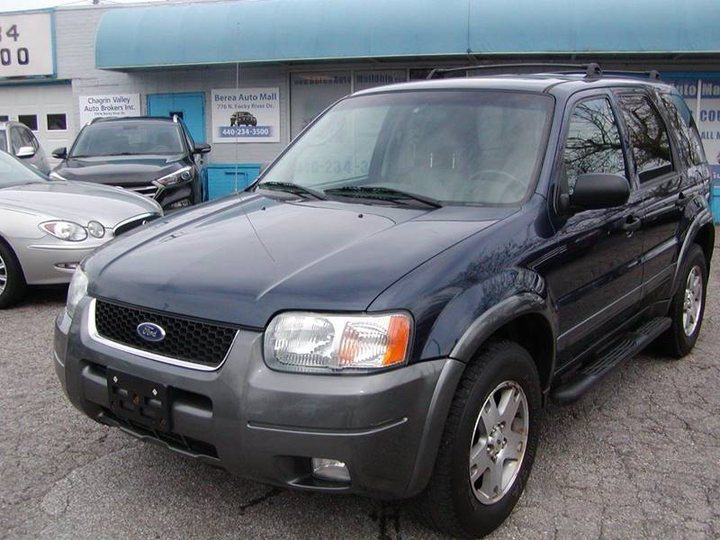 2004 Ford Escape XLT 4WD 4dr SUV for sale at Berea Auto Mall
