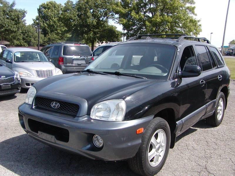 2004 Hyundai Santa Fe GLS AWD 4dr SUV for sale at Berea Auto Mall