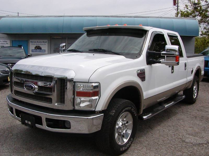 2008 Ford F-250 Super Duty Lariat 4dr Crew Cab 4WD SB for sale at Berea Auto Mall