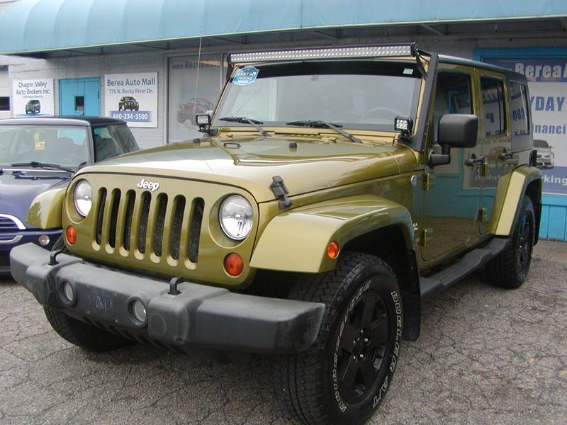 2007 Jeep Wrangler Unlimited Sahara 4x4 4dr SUV for sale at Berea Auto Mall