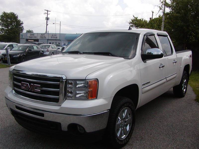 2012 GMC Sierra 1500 SLE 4x4 4dr Crew Cab 5.8 ft. SB for sale at Berea Auto Mall