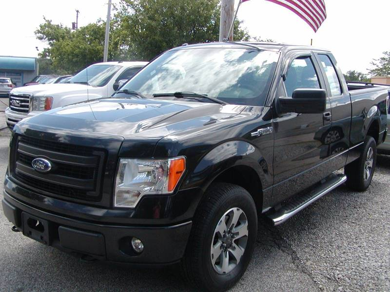 2013 Ford F-150 FX4 4x4 4dr SuperCab Styleside 6.5 ft. SB for sale at Berea Auto Mall