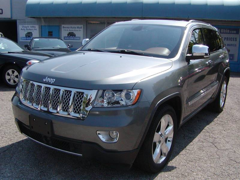 2011 Jeep Grand Cherokee Overland Summit 4x4 4dr SUV for sale at Berea Auto Mall