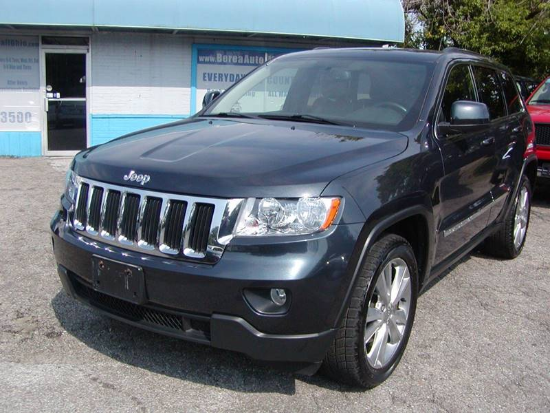 2012 Jeep Grand Cherokee Laredo X 4x4 4dr SUV for sale at Berea Auto Mall