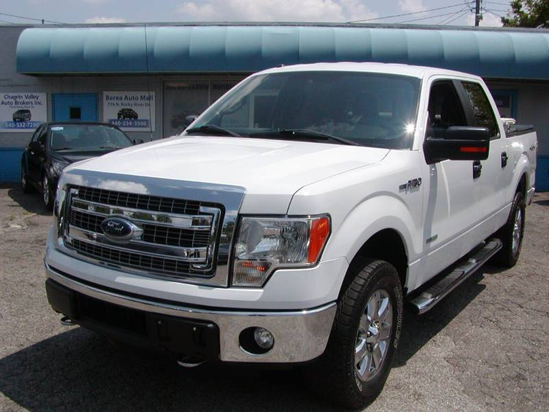 2014 Ford F-150 XLT 4x4 4dr SuperCrew Styleside 5.5 ft. SB for sale at Berea Auto Mall