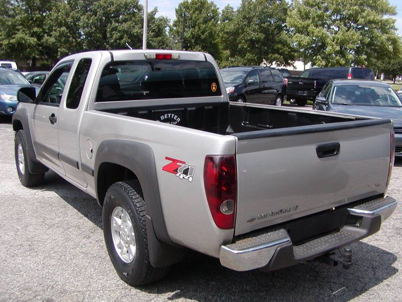 2007 Chevrolet Colorado LT 4dr Extended Cab 4WD SB for sale at Berea Auto Mall