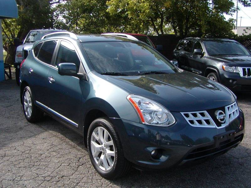 2013 Nissan Rogue SV w/SL Package AWD 4dr Crossover for sale at Berea Auto Mall