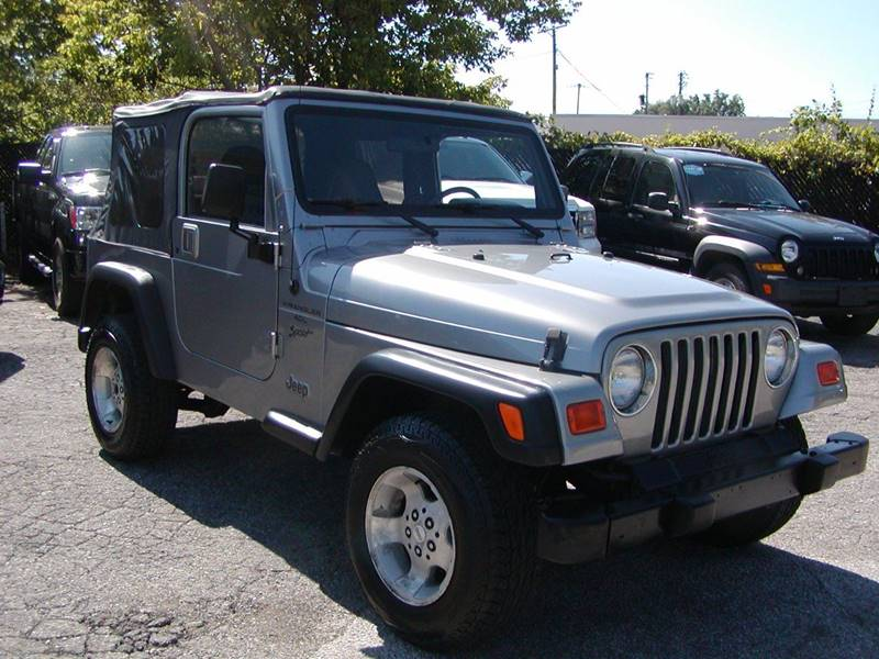 2001 Jeep Wrangler Sport 4WD 2dr SUV for sale at Berea Auto Mall