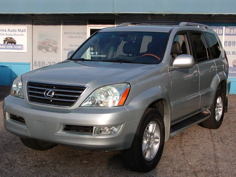 2004 Lexus GX 470 Base 4WD 4dr SUV for sale at Berea Auto Mall