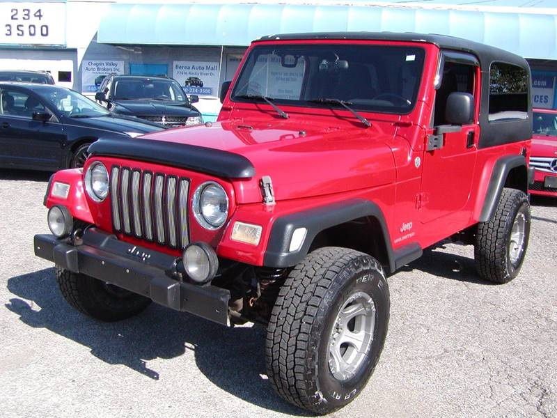2005 Jeep Wrangler Unlimited 4WD 2dr SUV for sale at Berea Auto Mall