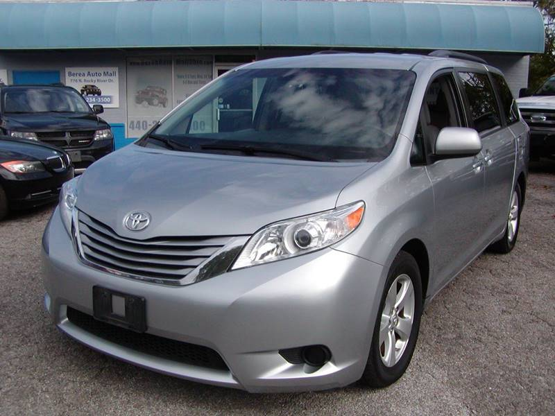 2015 Toyota Sienna LE 8 Passenger 4dr Mini Van for sale at Berea Auto Mall