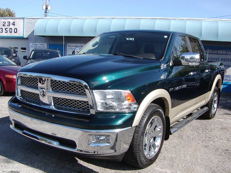 2011 RAM Ram Pickup 1500 Laramie 4x4 4dr Crew Cab 5.5 ft. SB Pickup for sale at Berea Auto Mall