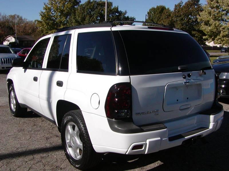 2007 Chevrolet TrailBlazer LS 4dr SUV for sale at Berea Auto Mall