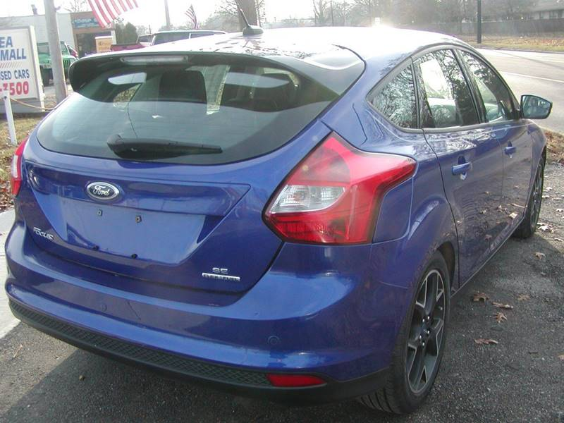 2013 Ford Focus SE 4dr Hatchback for sale at Berea Auto Mall