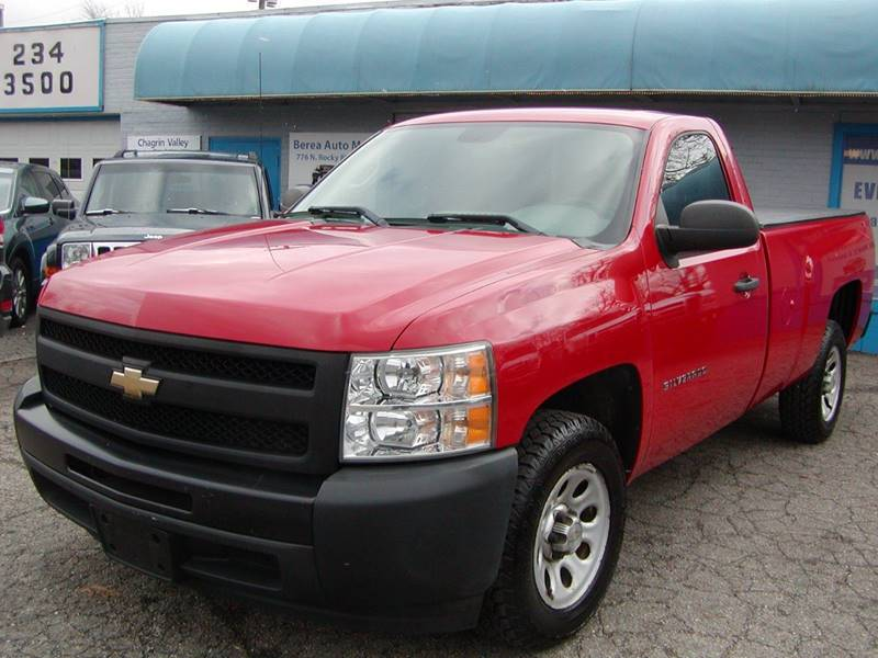 2010 Chevrolet Silverado 1500 Work Truck 4x2 2dr Regular Cab 8 ft. LB for sale at Berea Auto Mall