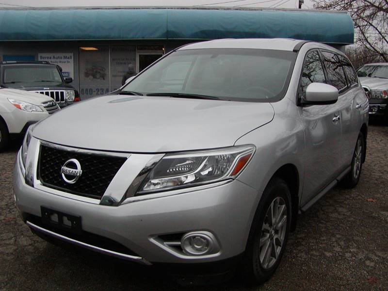 2014 Nissan Pathfinder S 4x4 4dr SUV for sale at Berea Auto Mall
