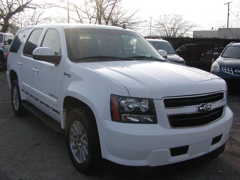 2008 Chevrolet Tahoe Hybrid 4x4 4dr SUV for sale at Berea Auto Mall