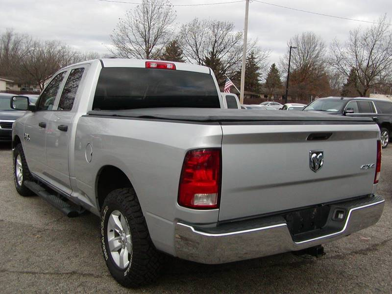 2014 RAM Ram Pickup 1500 SXT QUAD CAB 4X4 for sale at Berea Auto Mall