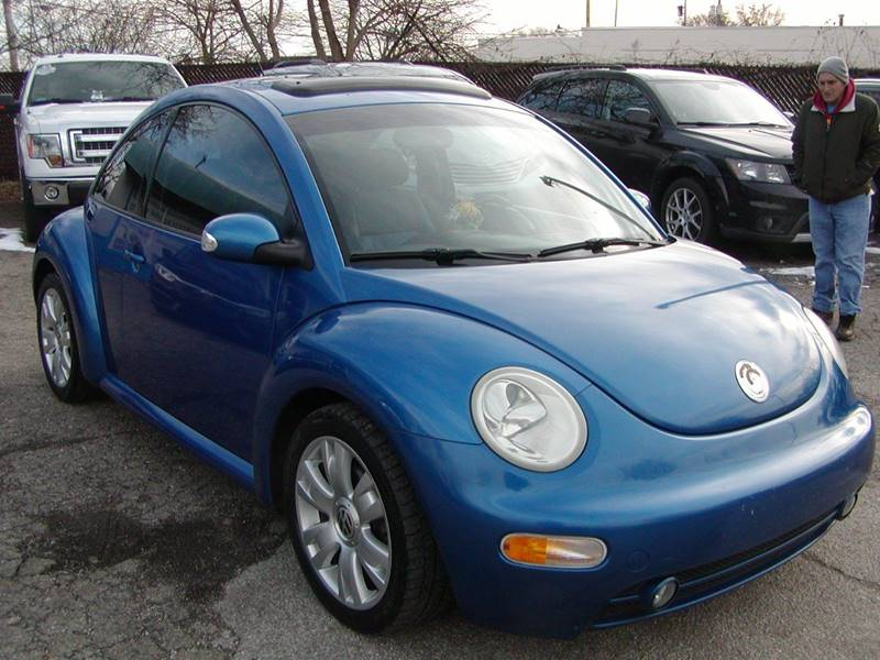 2003 Volkswagen New Beetle GLS 1.8T 2dr Turbo Coupe for sale at Berea Auto Mall