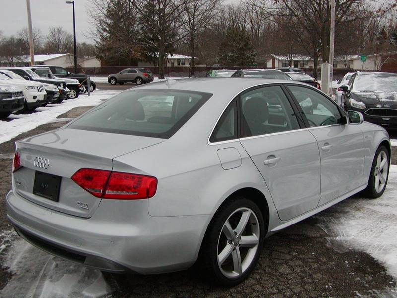 2012 Audi A4 2.0T quattro Premium Plus AWD 4dr Sedan 8A for sale at Berea Auto Mall