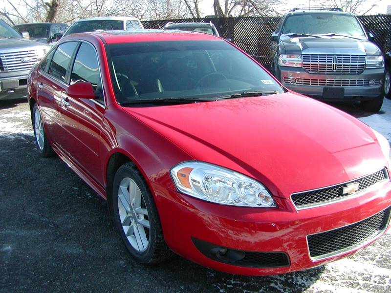 2012 Chevrolet Impala LTZ 4dr Sedan for sale at Berea Auto Mall