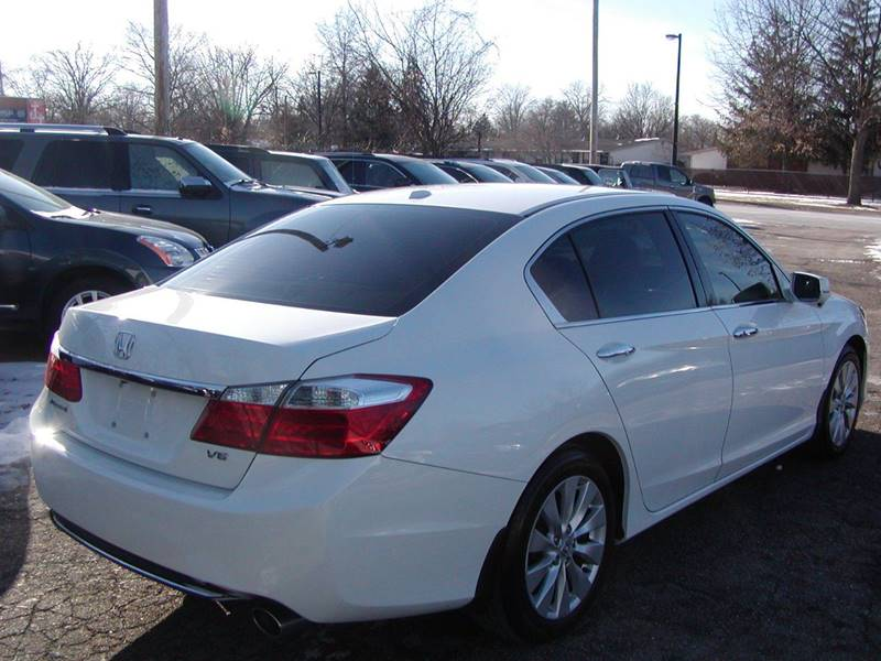 2013 Honda Accord EX L V6 w/Navi 4dr Sedan for sale at Berea Auto Mall