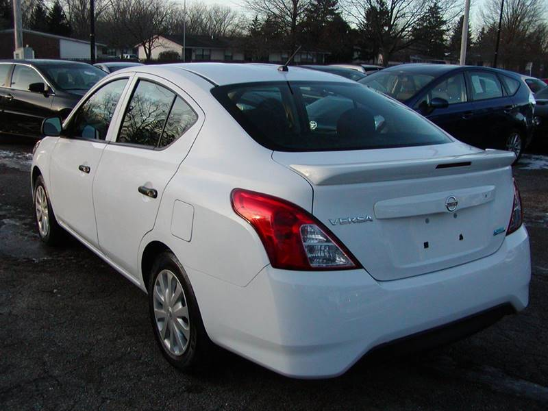 2015 Nissan Versa 1.6 S 4dr Sedan 4A for sale at Berea Auto Mall