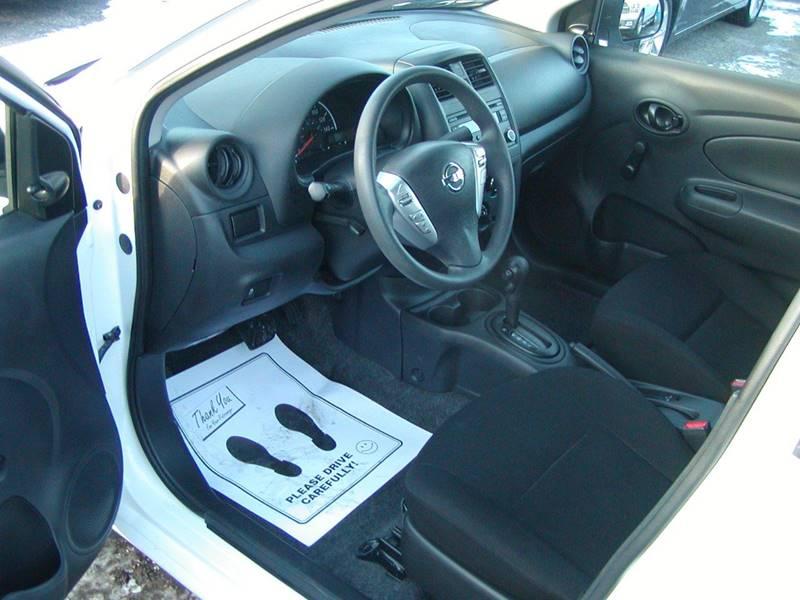 2015 Nissan Versa 1.6 S 4dr Sedan 4A for sale at Berea Auto Mall