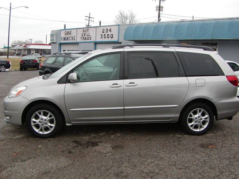 2005 Toyota Sienna XLE Limited 7 Passenger AWD 4dr Mini Van for sale at Berea Auto Mall