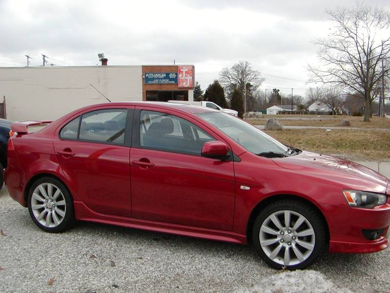 2008 Mitsubishi Lancer GTS 4dr Sedan CVT for sale at Berea Auto Mall