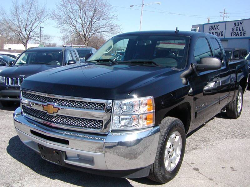 2013 Chevrolet Silverado 1500 LT 4x2 4dr Extended Cab 6.5 ft. SB for sale at Berea Auto Mall