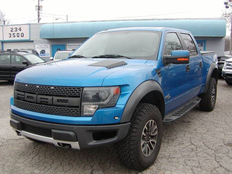 2013 Ford F-150 SVT Raptor 4x4 4dr SuperCrew Styleside 5.5 ft. SB for sale at Berea Auto Mall