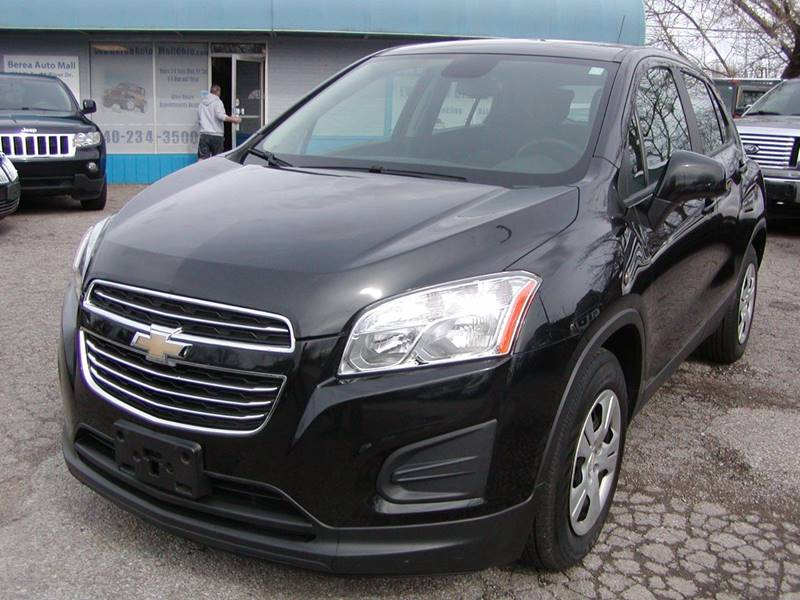 2015 Chevrolet Trax LS 4dr Crossover w/1LS for sale at Berea Auto Mall
