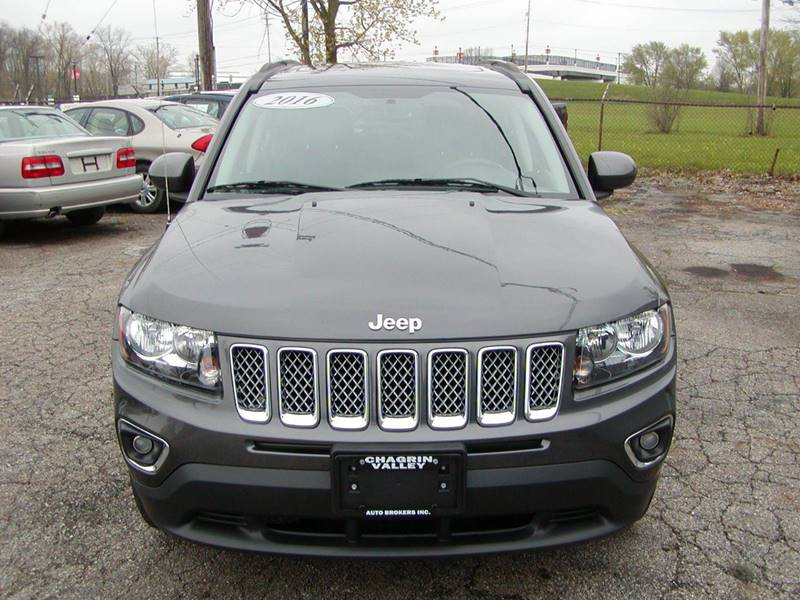 2016 Jeep Compass High Altitude 4x4 4dr SUV for sale at Berea Auto Mall