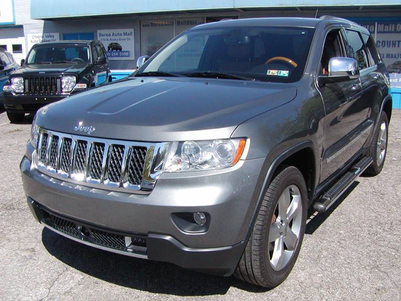 2012 Jeep Grand Cherokee Overland 4x4 4dr SUV for sale at Berea Auto Mall