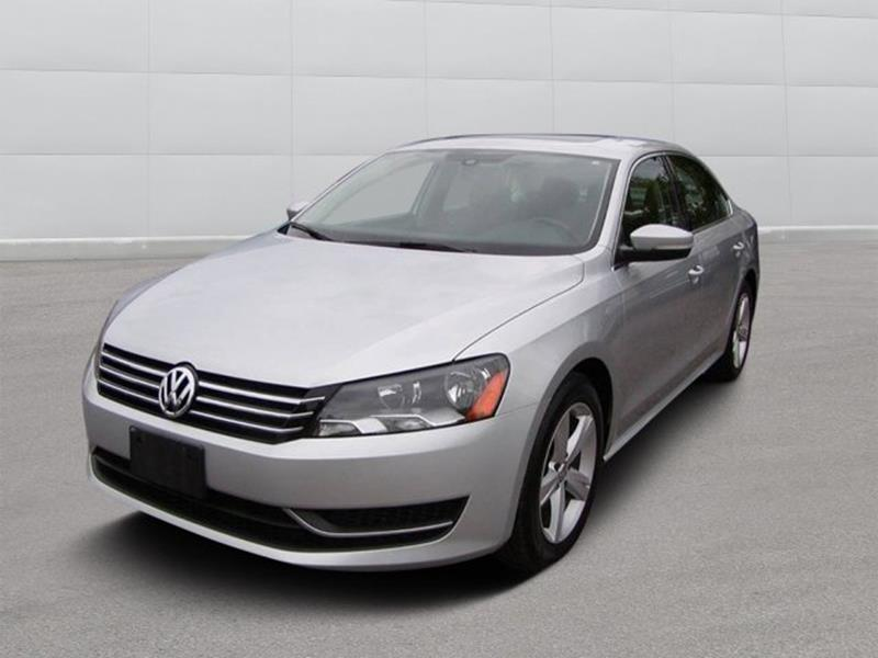 2013 Volkswagen Passat SE PZEV 4dr Sedan 6A w/ Sunroof for sale at Berea Auto Mall