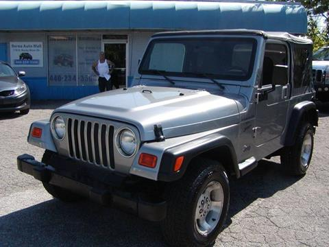 2001 Jeep Wrangler for sale in Berea, OH