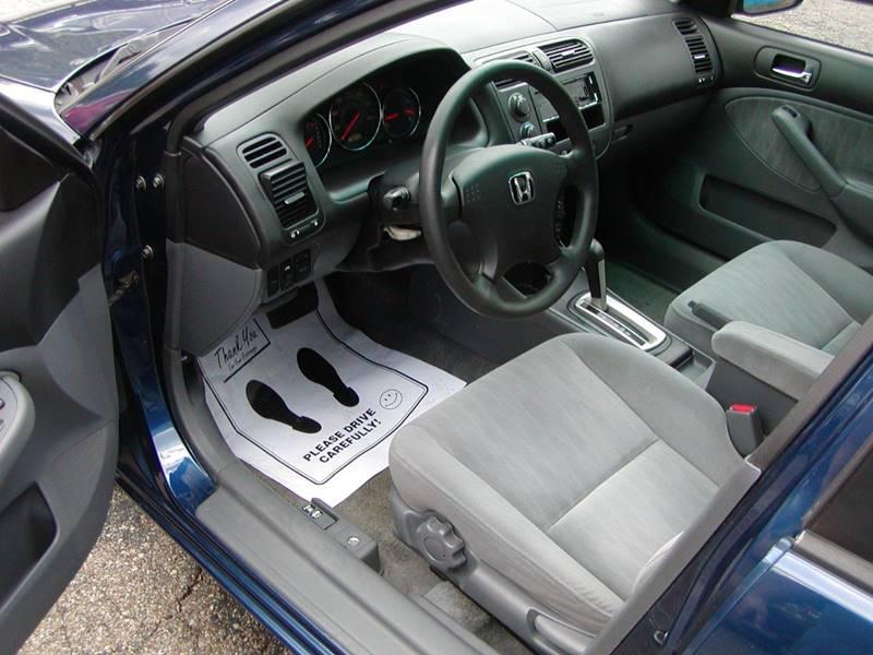 2003 Honda Civic EX 4dr Sedan for sale at Berea Auto Mall