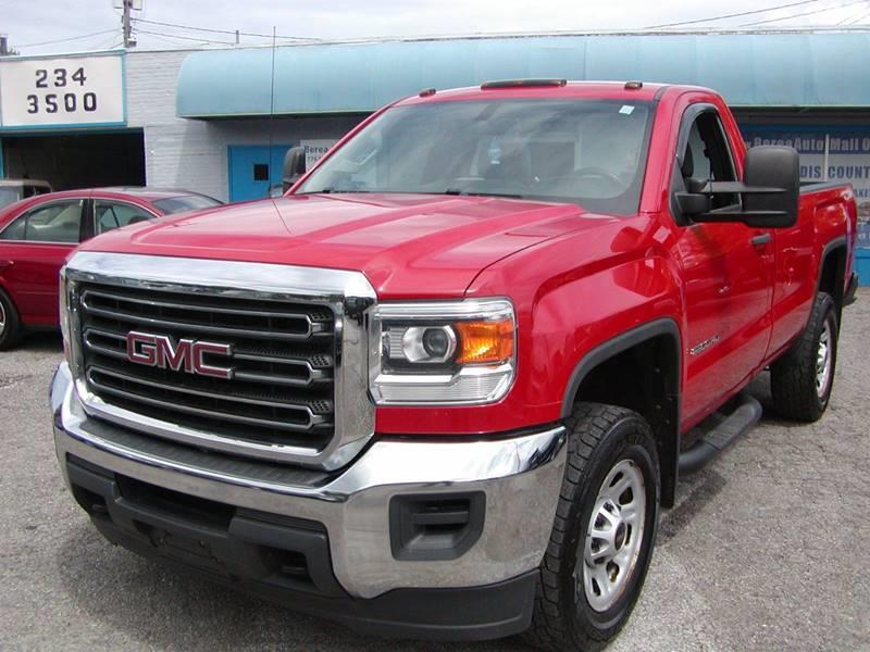 2015 GMC Sierra 2500HD Base 4x4 2dr Regular Cab LB for sale at Berea Auto Mall