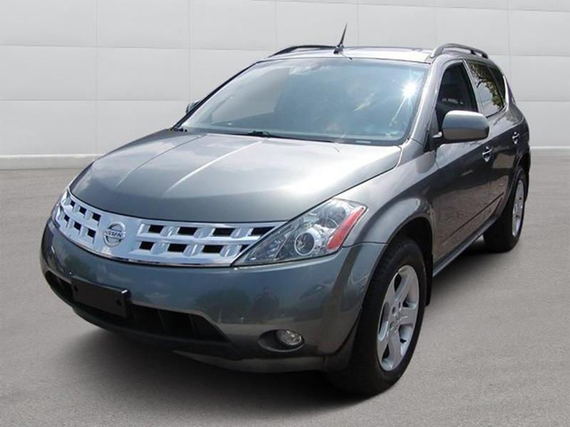 2005 Nissan Murano SL AWD 4dr SUV for sale at Berea Auto Mall