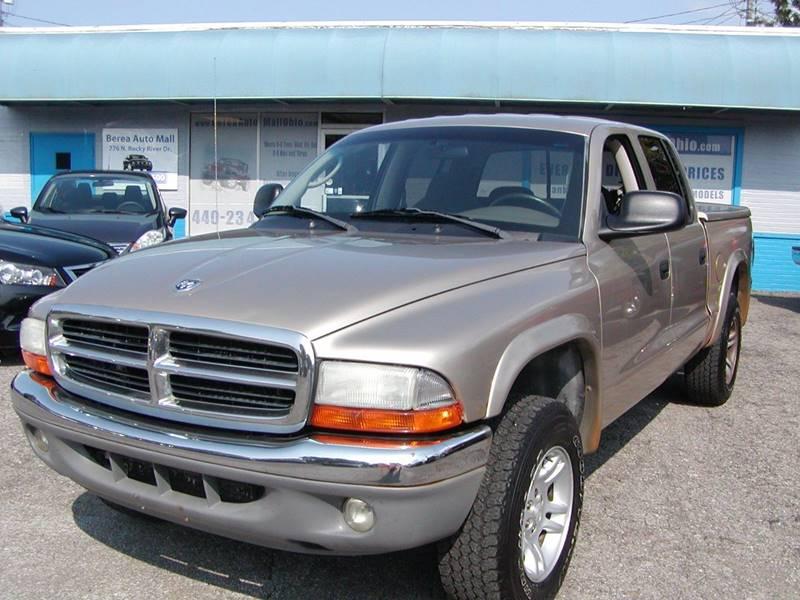 2004 Dodge Dakota SLT 4dr Quad Cab 4WD SB for sale at Berea Auto Mall