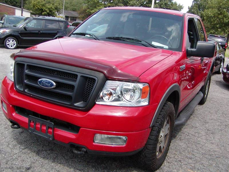 2004 Ford F-150 FX4 4dr SuperCab 4WD Styleside 5.5 ft. SB for sale at Berea Auto Mall