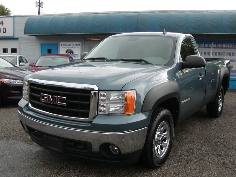 2008 GMC Sierra 1500 SLE1 4WD 2dr Regular Cab 8 ft. LB for sale at Berea Auto Mall