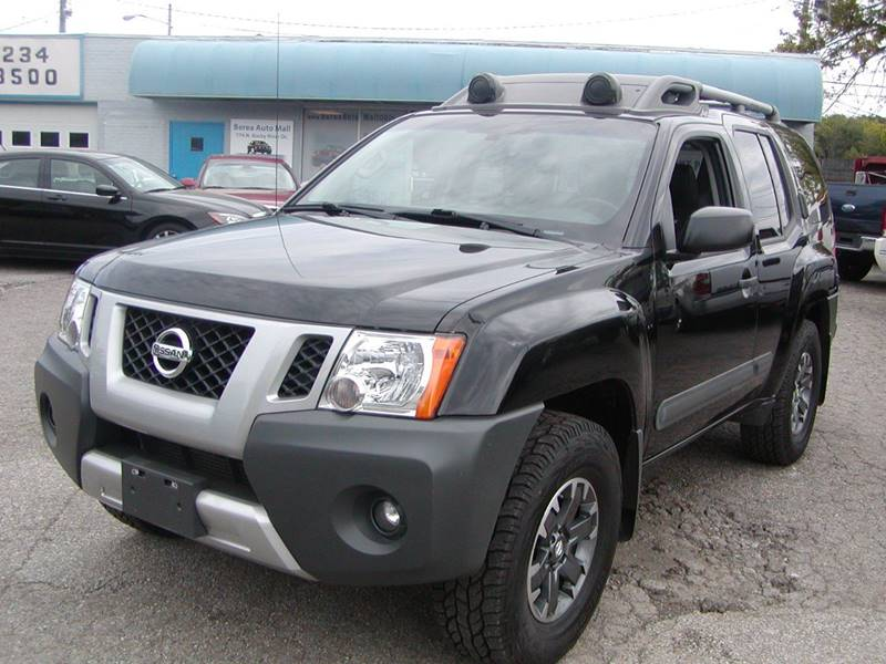 2014 Nissan Xterra PRO 4X 4x4 4dr SUV 5A for sale at Berea Auto Mall