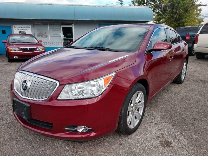 2011 Buick LaCrosse CXL 4dr Sedan for sale at Berea Auto Mall