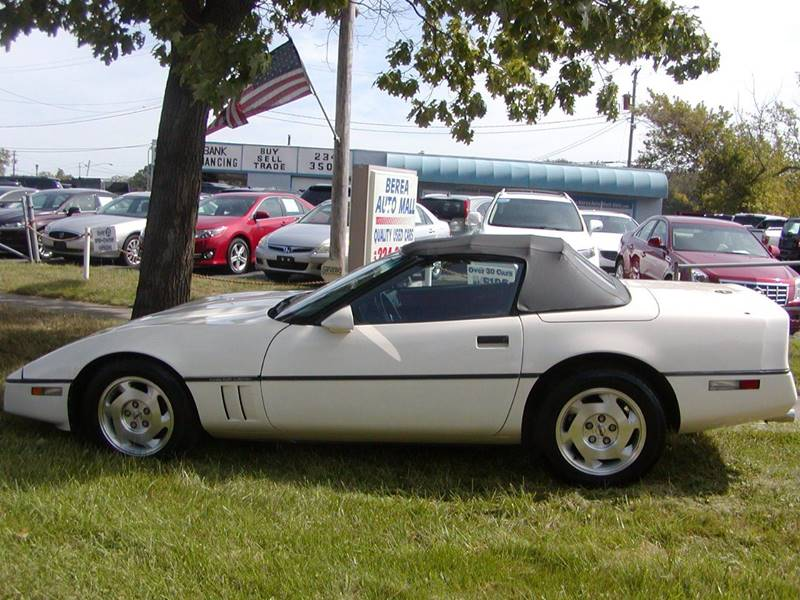 1988 Chevrolet Corvette Base 2dr Convertible for sale at Berea Auto Mall