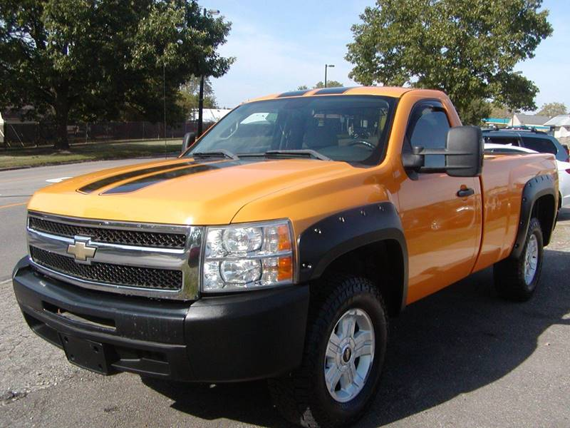 2009 Chevrolet Silverado 1500 LT 4x4 2dr Regular Cab 8 ft. LB for sale at Berea Auto Mall