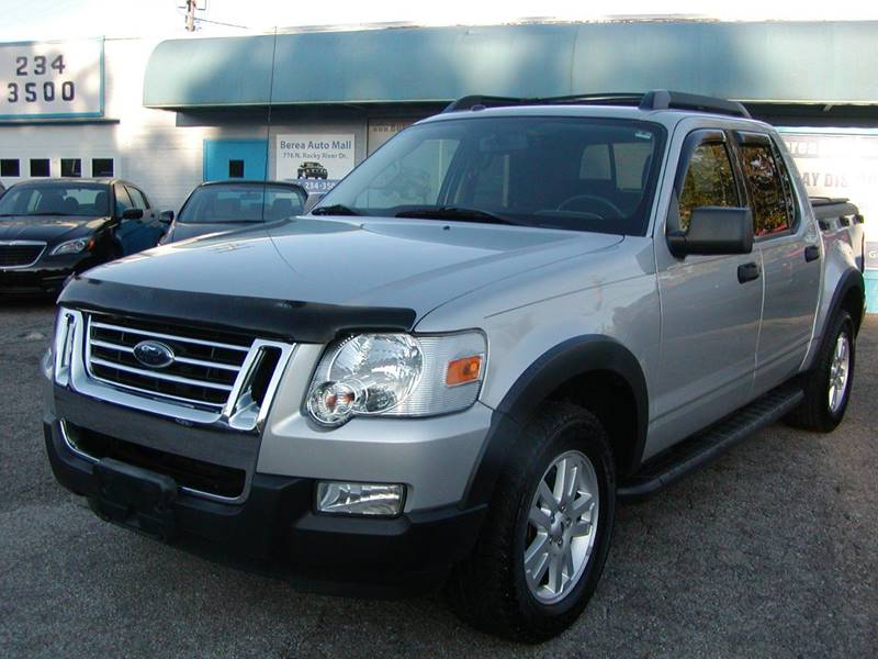 2010 Ford Explorer Sport Trac XLT 4x4 4dr Crew Cab for sale at Berea Auto Mall